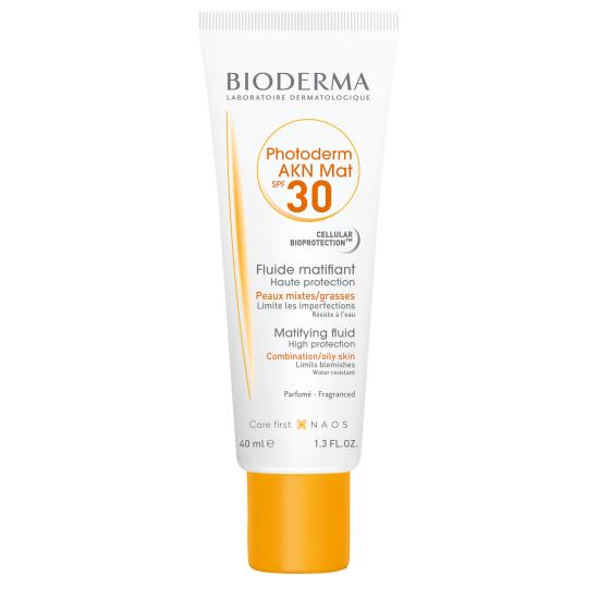 Bioderma Photoderm AKN MAT Krém aknés, zsíros, problémás bőrre SPF30